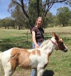 Paula and foal